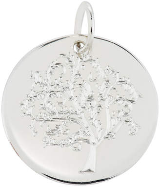 Emily and Ashley Sterling Silver Tree of Life Charm Necklace