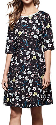 Yumi Noveu Flower Dress, Black