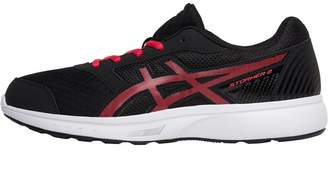 3b74d4df9bad Asics Womens Stormer 2 Neutral Running Shoes Black Pixel Pink