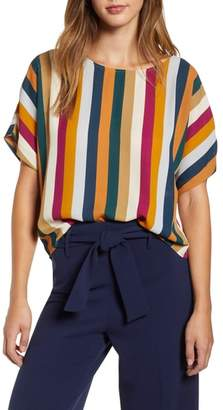 Leith Short Sleeve Woven Top