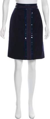 Tory Burch Wool Knee-Length Skirt