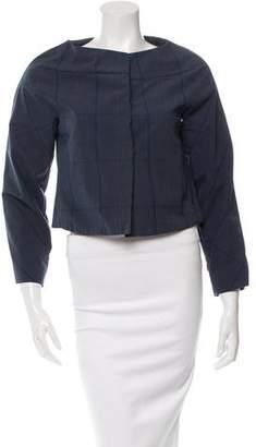 Marni Plaid Long Sleeve Jacket