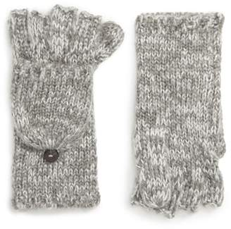 Rebecca Minkoff Subtle Mouline Pop Top Mittens