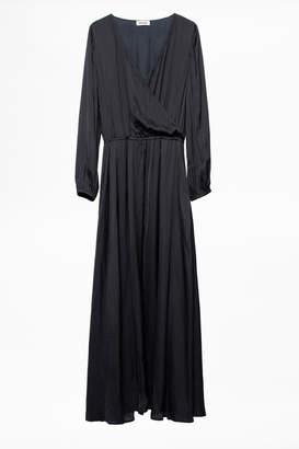 Zadig & Voltaire Rikko Satin Dress