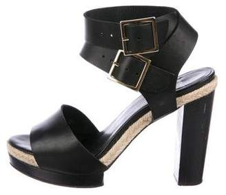 Pierre Hardy Platform Leather Sandals