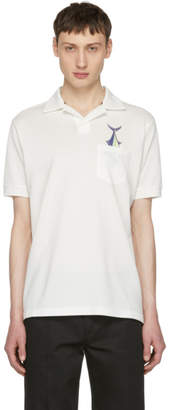 Paul Smith Off-White Fish Polo