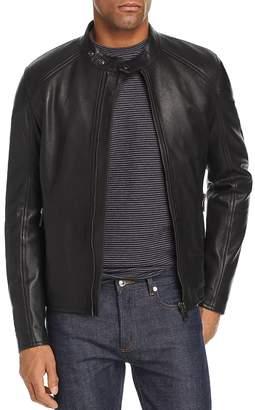 B Racer Leather Jacket