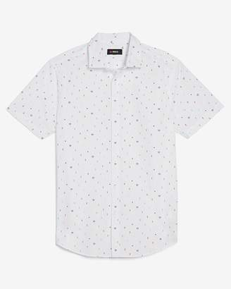 Express Slim Love Unites Lgbtqai+ Short Sleeve Shirt