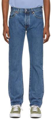 Levi's Levis Blue 501 Classic Jeans