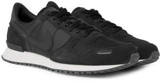 Nike Air Vortex Suede And Mesh Sneakers - Black