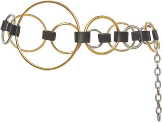 Marni Ring Leather Belt