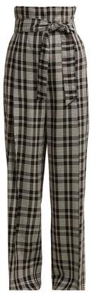 Max Mara Cina Trousers - Womens - Black White