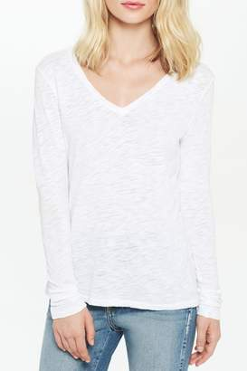Goldie Classic V-Neck Long-Sleeve