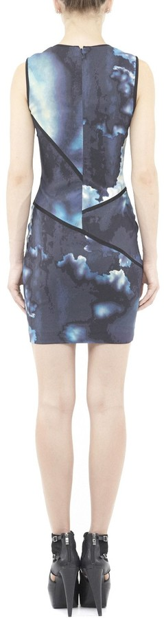 Nicole Miller Vibrant Cloud Dress
