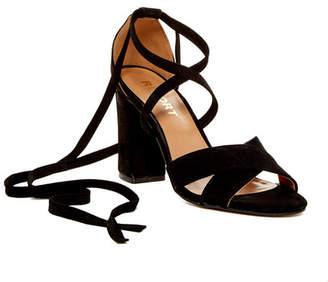 Report Mara Ankle Tie Sandal $70 thestylecure.com