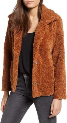 Dylan Kayla Faux Fur Cabin Jacket