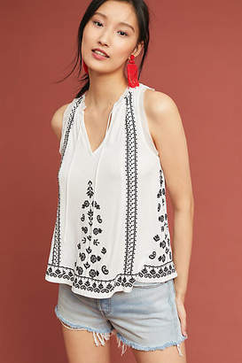 Akemi + Kin Chelsey Embroidered Tank