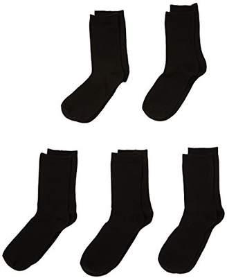 Pieces Women's EMMY 5 PACK SOCKS Calf Socks,7 (Manufacturer size: 39-41)