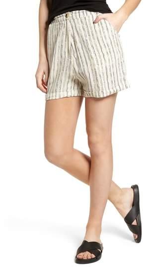 LOVE LIKE SUMMER X BILLABONG Pin-Up Linen Blend Shorts