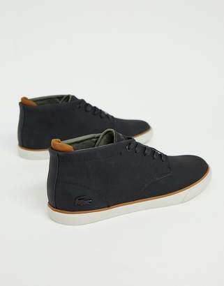 Lacoste Esparre winter c 318 3 chukka boots in black