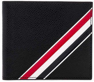 Thom Browne Pebble Grain and Calf Leather Billfold