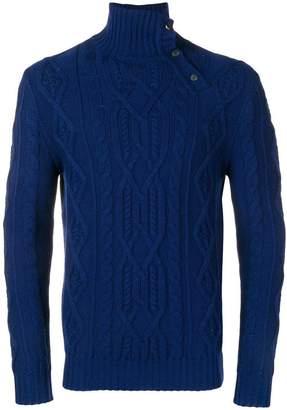 Al Duca D'Aosta 1902 turtleneck fitted sweater