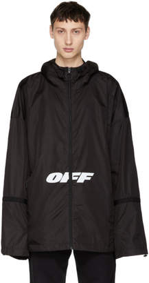 Off-White Off White Black Wing Off Windbreaker