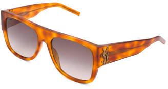 Unisex Made In Italy 55mm Designer Sunglasses