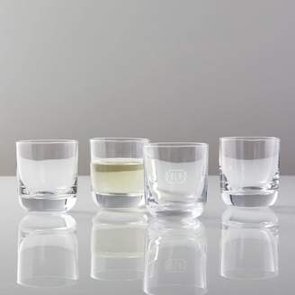 west elm Bold Double Old-Fashioned Glassware (Set Of 4)