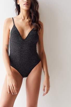 Out From Under Tiffany Sparkly Scoop Back Seamless Bodysuit