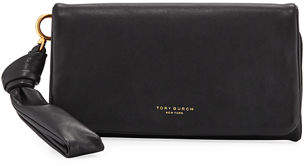 Tory Burch Beau Napa Leather Wristlet Wallet