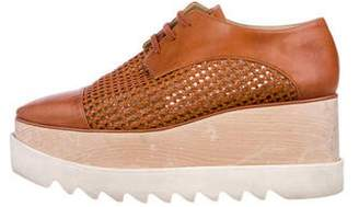 Stella McCartney Vegan Platform Oxfords