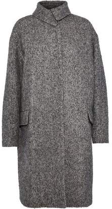 Vanessa Bruno Herringbone Wool Alpaca And Silk-Blend Coat