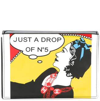 Chanel PRE-OWNED Just a Drop of No.5 clutch