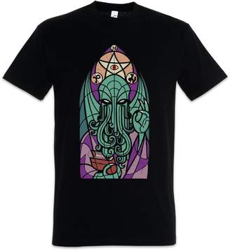 Church's Urban Backwoods of Cthulhu T-Shirt ? Miskatonic Lovecraft Arkham Dunwich Kathedralenfenster