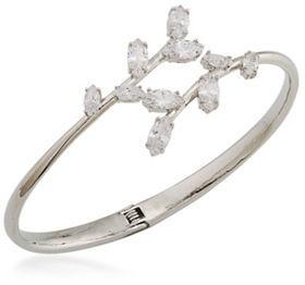 CaroleeCarolee Something Borrowed Cubic Zirconia Bangle Bracelet