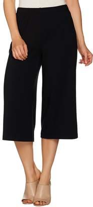 Susan Graver Weekend Stretch Cotton Modal Comfort Waist Gaucho Pants