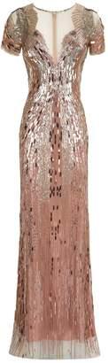 Jenny Packham Aurora Embellished Gown