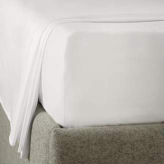 The White Company Easy Iron Egyptian Cotton Deep Fitted Sheet