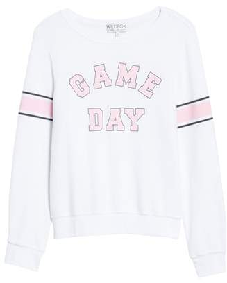 Wildfox Couture Game Day Baggy Beach Jumper Sweatshirt