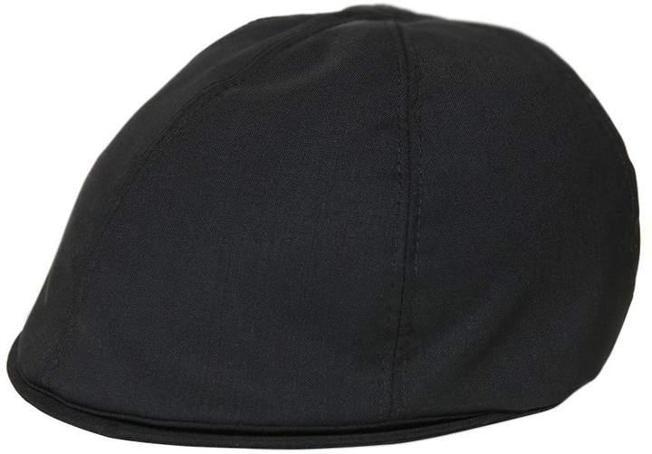 Flache Kappe Aus Cool Wool