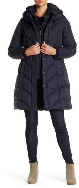DKNYDKNY Hooded Down Puffer Parka Coat