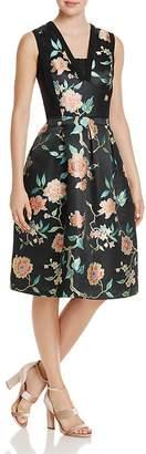 Nanette Lepore nanette Lace-Detail Floral Jacquard Dress - 100% Exclusive