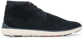 Tommy Hilfiger leather lace-up boots