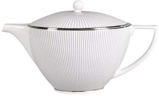 "Jasper Conran Wedgwood ""Blue Pinstripe"" Teapot"