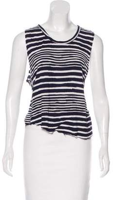 Reformation Sleeveless Striped Top
