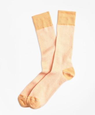 Brooks Brothers Color-Block Crew Socks