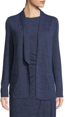 Nic+Zoe Every Occasion Melange Knit Blazer Jacket