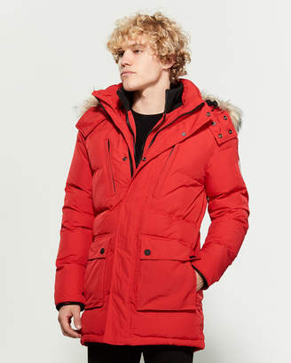 Superdry Red SD Expedition Parka
