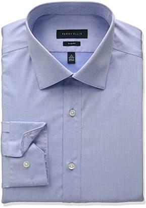Perry Ellis Men's Slim Fit Non-Iron Dress Shirt